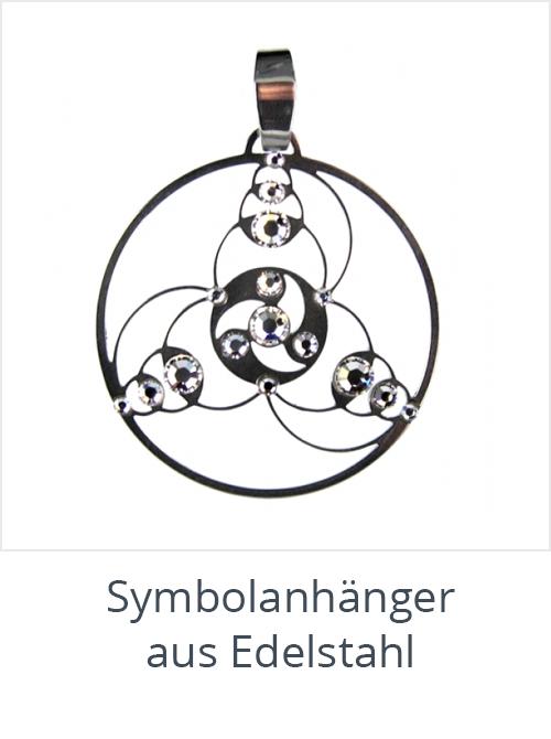 Symbolanh-nger-aus-Edelstahl